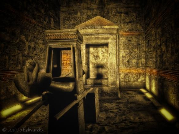 Golden Tomb at Edfu